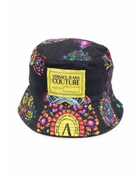 VERSACE JEANS COUTURE Logo Print Bucket Hat