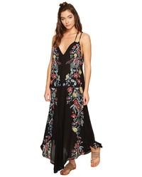 Free People Ashbury Printed Slip Dress Dress