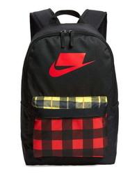 Nike Heritage 20 Plaid Backpack