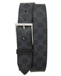 Gucci Gg Supreme Print Canvas Belt