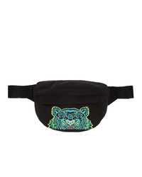 Kenzo Black Mini Tiger Bum Bag