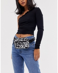 DKNY Nora Belt Bag With Multi Logo