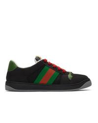 Gucci Black Screener Sneakers