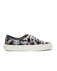 Vans Black Zodiac Pack Og Authentic Lx Sneakers