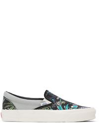 Vans Black Parrot Og Classic Slip On Lx Sneakers