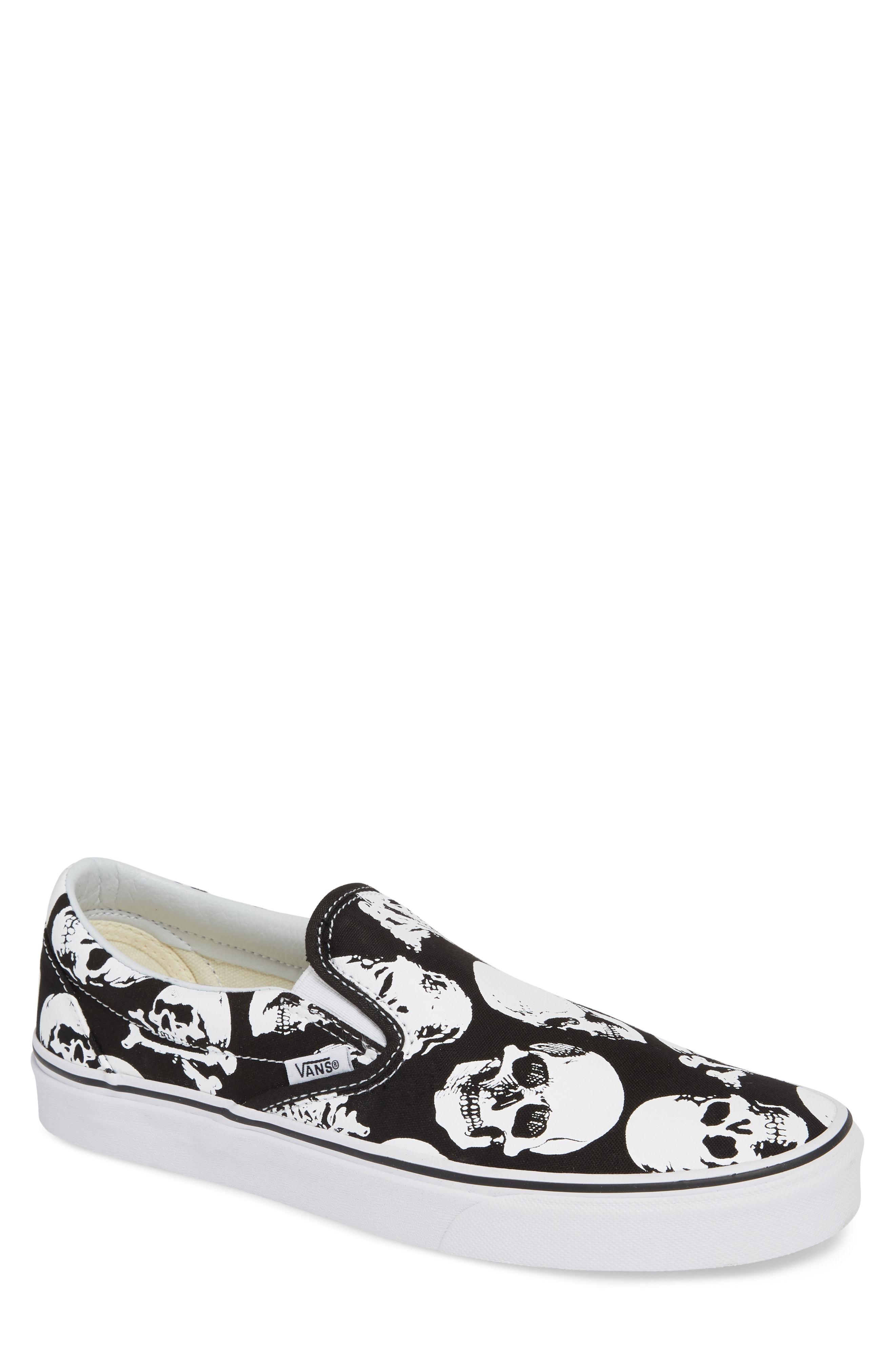 Vans Classic Skulls Slip On, $54