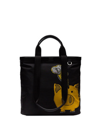 Dolce & Gabbana Black Pig Tote Bag