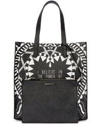 f149a2bc01 ... Givenchy Black White Medium Power Of Love Tote ...