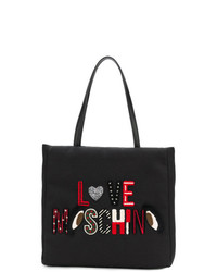 Love Moschino Embroidered Tote Bag