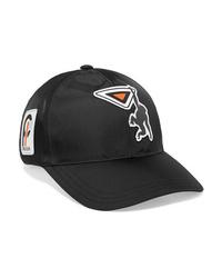 Prada Appliqud Shell Baseball Cap