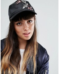 Asos Bird Embroidery Baseball Cap
