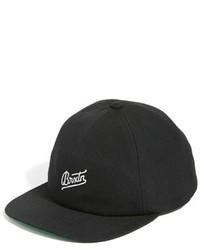 Brixton Reggie Snapback Cap Black