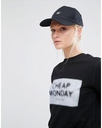 Cheap Monday Baseball Cap In Black