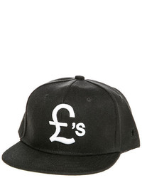 Classy Brand Pounds Team Snapback Hat In Black