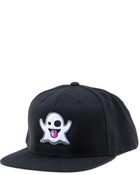 Klp The Im Ghost Emoticon Snapback In Black