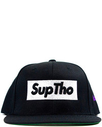 Ktag Nyc The Suptho Snapback In Black