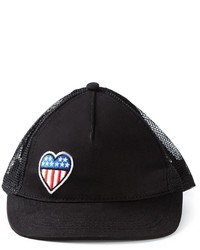 Love Moschino Heart Patch Baseball Cap
