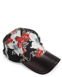 Rag & Bone Marilyn Floral Print Baseball Cap