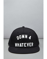 Forever 21 Reason Down 4 Whatever Trucker Hat