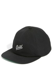 Reggie snapback cap black medium 1316264