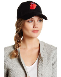 Natasha Accessories Rocker Lips Patch Baseball Cap