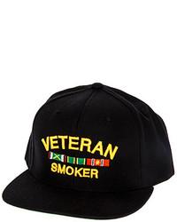 Smokers Only Veteran Smoker Snapback Hat