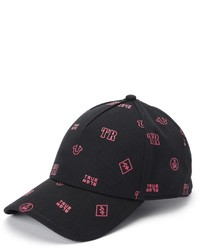 True Religion Monogram Twill Baseball Cap