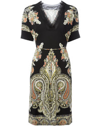 Etro Paisley Print T Shirt Dress