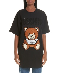 Moschino Sequin Teddy T Shirt Dress