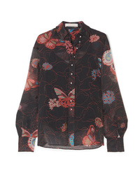 See by Chloe Printed Chiffon Shirt