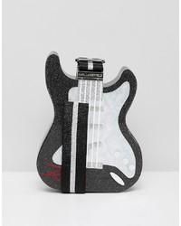 Karl Lagerfeld Guitar Minaudiere Box Bag