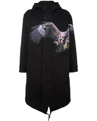 Neil Barrett Eagle Print Coat