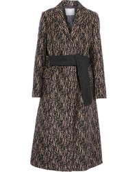 3.1 Phillip Lim Slim Printed Wool Blend Coat