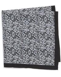 Shop panso print cotton pocket square medium 4911620