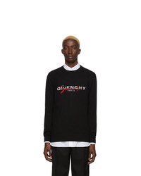 Givenchy Black Classic Signature Sweater