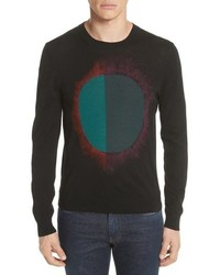 PS Paul Smith Circle Merino Wool Blend Sweater