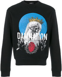 DSQUARED2 Damnation Printed Sweatshirt