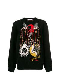 Givenchy Libra Intarsia Knit Sweater