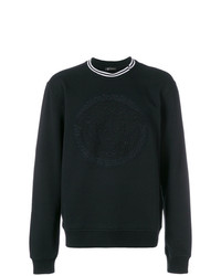 Versace Collection Logo Long Sleeve Sweater