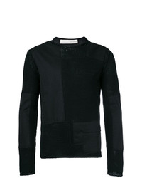 Poplin panelled sweater medium 8029750