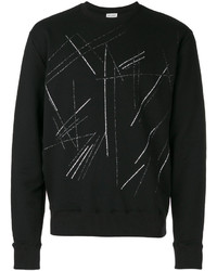 Scratch print sweatshirt medium 4394374