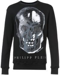 Philipp Plein Skull Print Sweatshirt