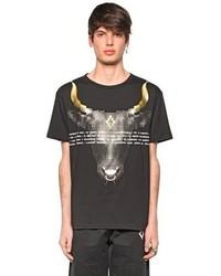 Marcelo Burlon County of Milan Achao Printed Cotton Jersey T Shirt