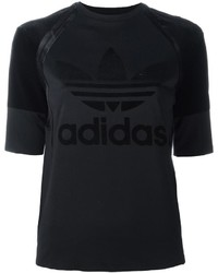 adidas Originals Trefoil Logo Print T Shirt