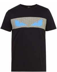 Fendi Bag Bugs Print T Shirt