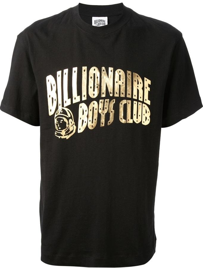 v-neck logo T-shirt - Black Billionaire Boys Club Free Shipping Recommend Visit New Online Huge Surprise Online Extremely Manchester For Sale Om4Lmbl
