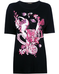 Roberto Cavalli Bird Print T Shirt