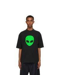 Balenciaga Black Alien Medium Fit T Shirt