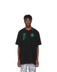 Off-White Black Architectural Shapes T Shirt