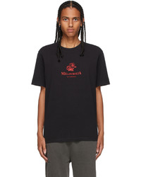 Han Kjobenhavn Black Artwork T Shirt